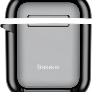 Baseus Shiny AirPods 1 / 2 Case - Zwart hoesje