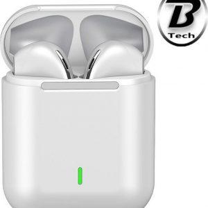 Blacktech - Volledig draadloze oordopjes - 2021 model- Zweetbestendig - Waterproof - TOUCH Buttons - Lichtgewicht - Bluetooth 5.0 - Earbuds - 3 tot 4 uur luistertijd - Binnen 1 uur VOLLEDIG GELADEN - Wit