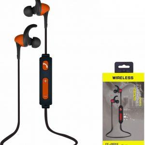 Bluetooth Oordopjes Orange