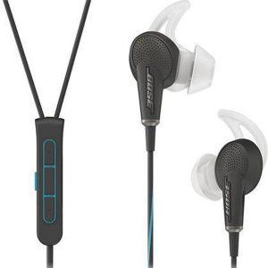 Bose QuietComfort 20 Apple - In-ear oordopjes met Noise Cancelling - Zwart