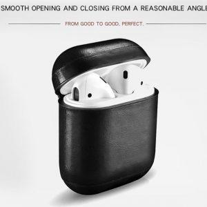 Case Cover voor Apple AirPod Zwart
