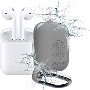 CaseProof waterproof case for AirPods grey