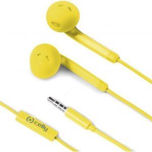 Celly FUN35YL hoofdtelefoon/headset In-ear Geel