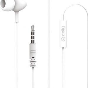 Celly UP500WH hoofdtelefoon/headset In-ear Wit