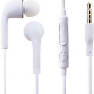 (Combi Pack 2x stuks )Oordopjes/headset geschikt voor Samsung Galaxy S7, S7 edge, S6, S6 Edge, S6 Edge Plus en andere smartphones - Wit - Underdog Tech