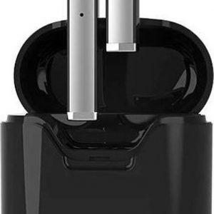 DrPhone ONYX - Hi-Fi Draadloze In-Ear Earbuds - Oordoppen - Bluetooth 5.0 - HD Gesprekken - Auto-Connect - IPX5 Waterproof - Voor IOS / Android / Smart TV - Zwart