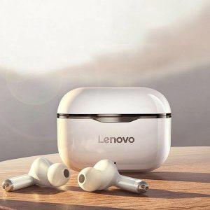 Draadloze Oordopjes - Lenovo LP1 - Volledig draadloze oordopjes - met Noise Cancelling - met Oplaad Case - Bluetooth 5.0