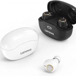 Draadloze Oordopjes - Lenovo X 18 - Volledig draadloze oordopjes - met Oplaad Case - Bluetooth 5.0 Wit