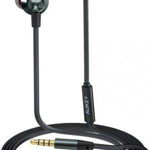 [Groothandel 10x Stuks] AUKEY In Ear hoofdtelefoon, Bedrade hoofdtelefoon Bas Stereo Oordopjes Headset met microfoon en afstandsbediening, 3,5 mm Jack Plug voor iPhone, Samsung, Huawei