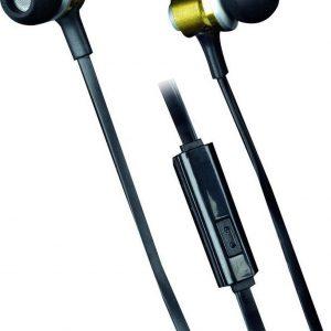 Grundig Metal pro stereo oortelefoon met microfoon