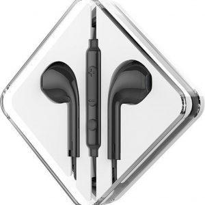 HOCO M55 Memory Sound In-Ear Oordopjes Zwart
