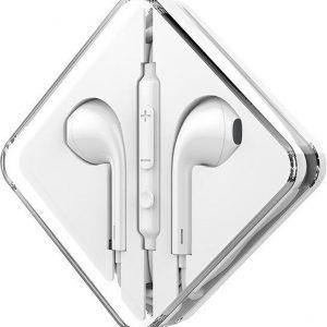 HOCO M55 Memory Sound In-Ear Oordopjes wit