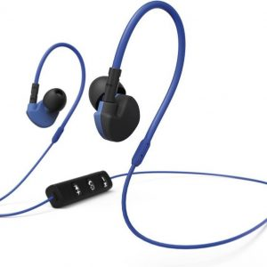 Hama Active BT Bluetooth® (1075101) Sports In-ear headphones In-ear Headset, Volume control, Sweat-resistant Blue