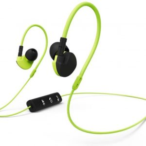 Hama Active BT Bluetooth® (1075101) Sports In-ear headphones In-ear Headset, Volume control, Sweat-resistant Yellow