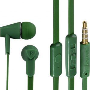"""Hama """"Joy"""" In-Ear Stereo Earphones, green"""
