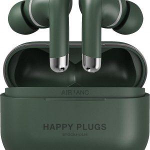 Happy Plugs Air 1 Draadloze In-Ear Oordopjes Noise Cancelling Groen