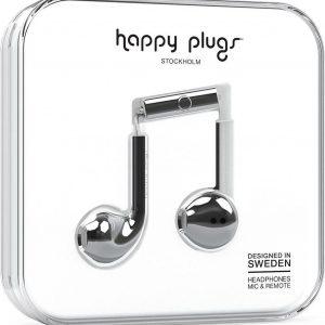 Happy Plugs Earbud Plus - In-ear koptelefoon - Zilver
