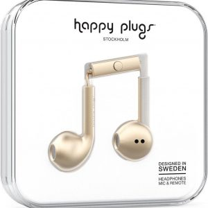 Happy Plugs Earbud Plus - In-ear oordopjes - Champagne