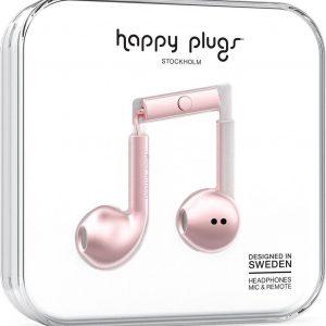 Happy Plugs Earbud Plus - In-ear oordopjes - Rozegoud