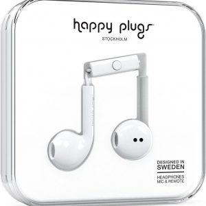 Happy Plugs Earbud Plus - In-ear oordopjes - Wit