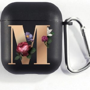 Hidzo Hoes Voor Apple's Airpods - Letter M