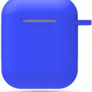 Hidzo hoes voor Apple's Airpods - Siliconen - Blauw