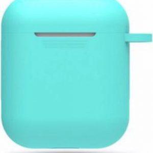 Hidzo hoes voor Apple's Airpods - Siliconen - Turquoise