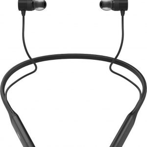 Hoco S18 - 2 in 1 Sport Zwart - Draadloze Bluetooth in-ear oortjes met nekband - Magnetisch - IPX5 - Hi-Res