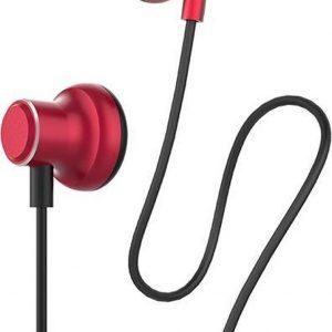 Hoco - in ear oordopjes - Oortjes met draad en microfoon - Rood