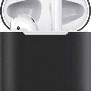 Hoesje / case / beschermhoesje geschikt voor Apple Airpods (gen. 1 &2) - ESR - Zeer mooi ontworpen hoesje, kwalitatief - Breeze- geschikt voor draadloos opladen & met led indicator opening - Zwart