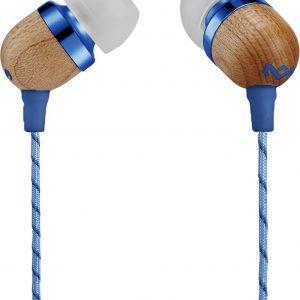House of Marley Smile Jamaica denim oortjes - oordopjes met microfoon en 1knopsbediening
