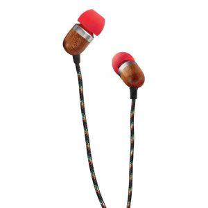 House of Marley Smile Jamaica fire oortjes - oordopjes met microfoon en 1knopsbediening