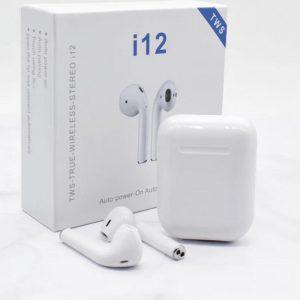 I12 TWS- Draadloze Oordopjes - Bluetooth Oordopjes - Universele earpods - Geschikt voor Apple & Android - Touch Bediening - Bluetooth 5.0 Oortjes - Wit