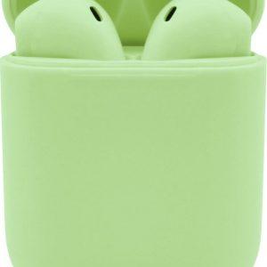 JAP Sounds AP18 - Draadloze in-ear oordopjes - Verbinden automatisch - Smart oplaadcase - Groen
