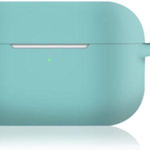KELERINO. Siliconen Case voor Apple AirPods Pro - Met Haak - Mint Groen