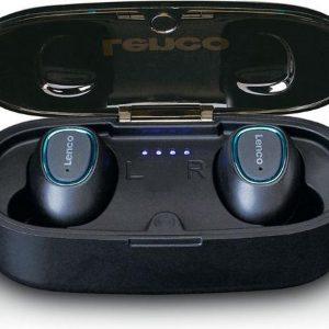 Lenco EPB-410 - draadloze oordopjes Waterproof (IPX4) - Zwart