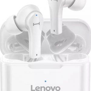 Lenovo QT 82 Draadloze Oordopjes - Met Oplaad Case - Bluetooth 5.0 / Wit