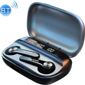 Lenovo QT81 Draadloze Oordopjes - Bluetooth 5.0 - AirPods Alternatief - True Touch Control - Zwart