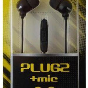 Maxell 303759 hoofdtelefoon/headset In-ear Zwart