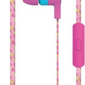 Maxell Cordz Earphone met ingebouwde microfoon kleur Roze