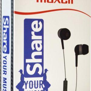 Maxell EB-Share In-Ear Grijs - Zwart