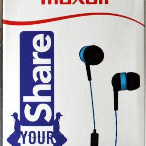 Maxell EB-Share In-Ear kleur Blauw-Zwart
