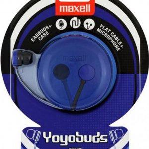 Maxell Yoyo Buds Headset In-ear Zwart, Blauw