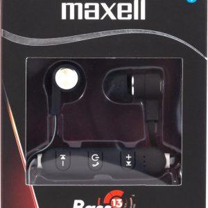 Maxell bluetooth earphone bass 13 - HD1 zwart.