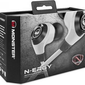 Monster Cable NCredible NErgy Hoofdtelefoons In-ear Wit