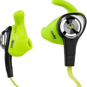 Monster Cable iSport Intensity Zwart, Groen, Geel Intraauraal In-ear koptelefoon