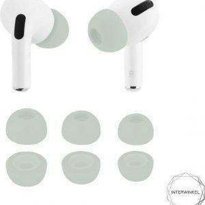 *New* Interwinkel Airpods foam tips Minty Green