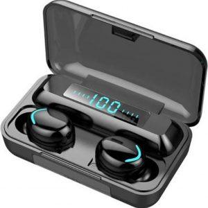 Oordop - Wireless Earphones - Draadloos - Draadloze Oordopjes - Draadloze Oortjes - Bluetooth Oordopjes - Oor - Earpods - Bluetooth 5.0 Oortjes - Zwart - 2021