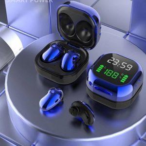 Oordop - Wireless Earphones - Draadloos - Draadloze Oordopjes - Draadloze Oortjes - Bluetooth Oordopjes - Oor - Earpods - Bluetooth Oortjes - Blauw