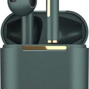 Oordop - Wireless Earphones - Draadloos - Draadloze Oordopjes - Draadloze Oortjes - Bluetooth Oordopjes - Oor - Earpods - Bluetooth Oortjes - Groen